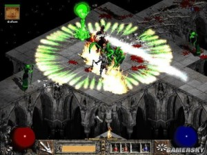 Diablo 2 and varied skill effect